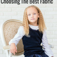 best fabric for kids clothing