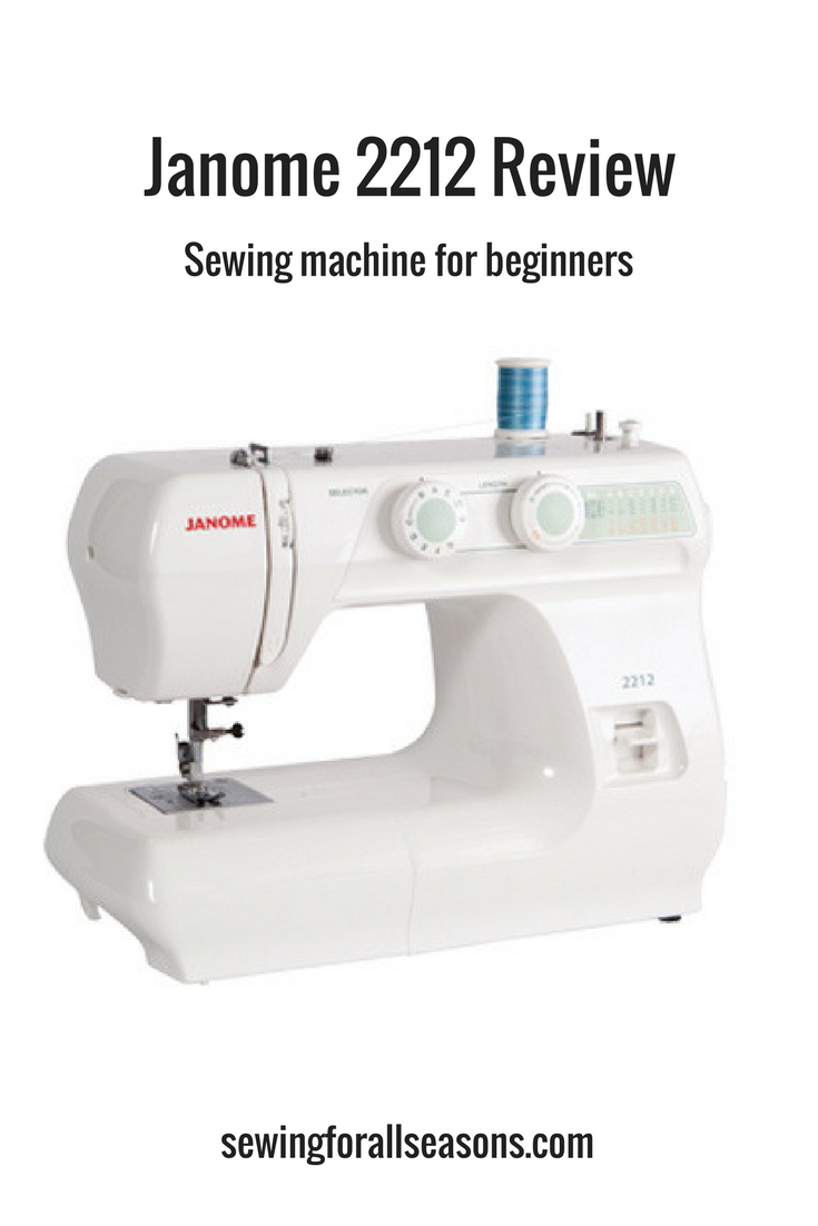 Janome review sewing machine for beginners