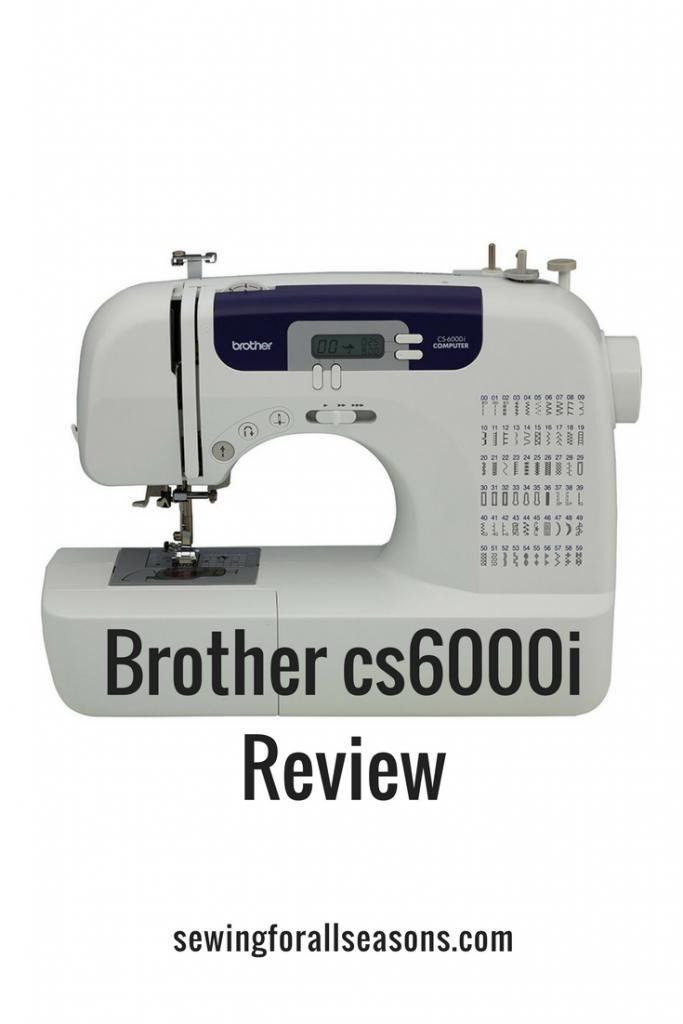 brother cs6000i reviews