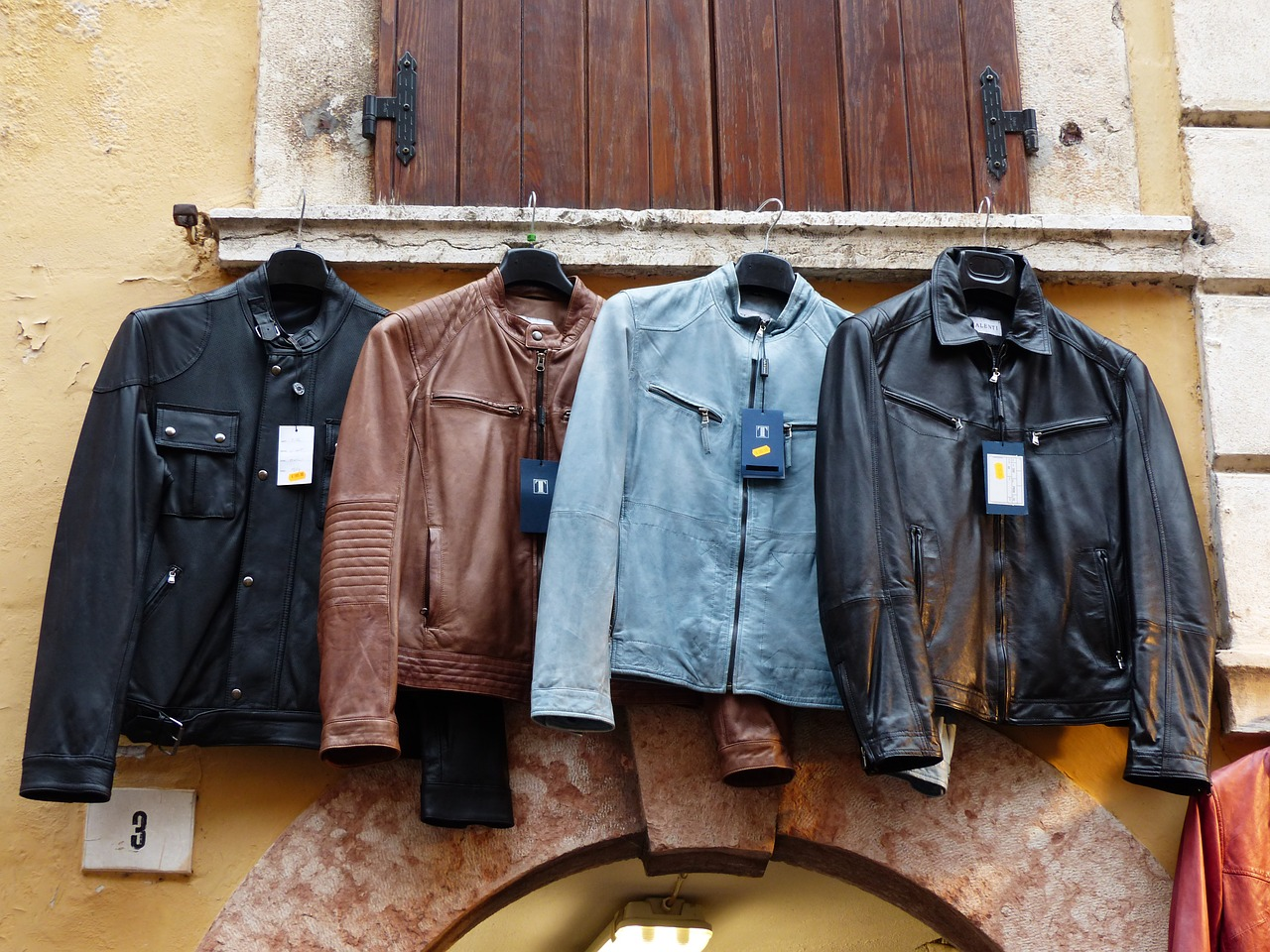 four different colored leather jackets best leather sewing machine